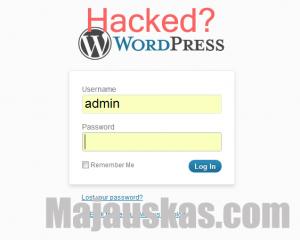 How to fix hacked WordPress site?